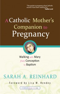A Catholic Mother's Companion to Pregnancy: Walking with Mary from Conception to Baptism